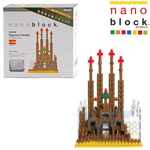 【Nano Block任選館】世界名景-未完的聖堂 (NBH-005)