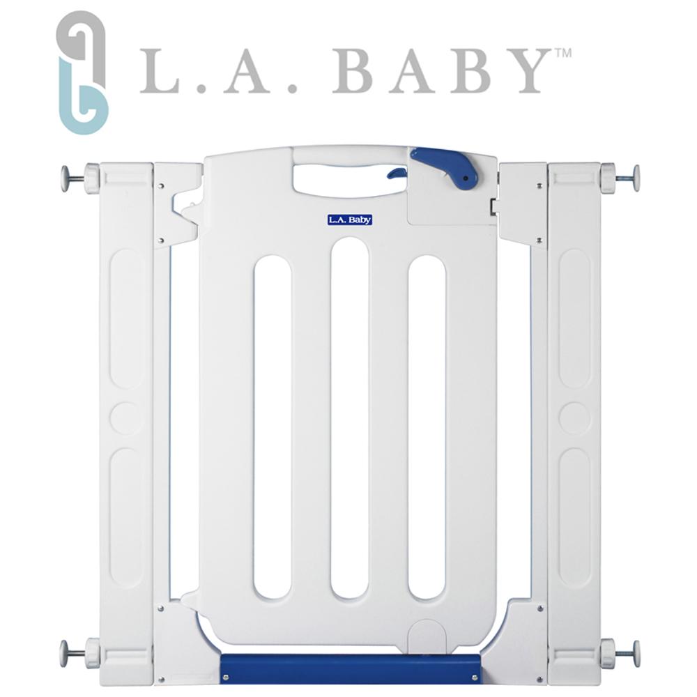 L.A. Baby美國加州貝比/幼兒安全自動上鎖門欄