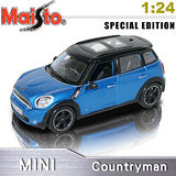 MINI Countryman 《1/24 》合金模型車 ~藍色