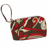 【美國Ju-Ju-Be媽咪包】BeQuick手拿包-Sienna Swirl紅色漩渦-可放尿布紙巾媽媽包