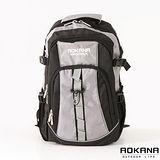 AOKANA奧卡納 舒壓護脊輕量中型防水登山後背包(質感灰)68-001