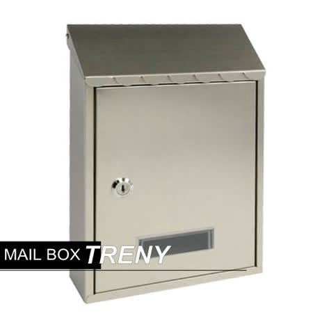 《信箱》 加厚不鏽鋼板-花編信箱(033HSS)-22925 -friDay購物