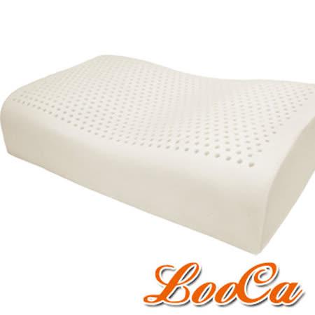 LooCa 蝶型機能特大乳膠枕2入