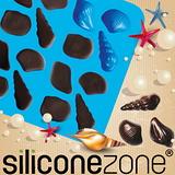 【Siliconezone 】施理康耐熱貝殼造型巧克力模/冰模