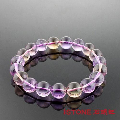 石頭記智慧與財富之石-10mm紫黃晶手鍊-34.4g