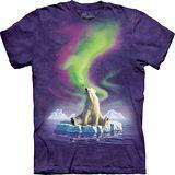 『摩達客』*大尺碼3XL*(預購)美國進口【The Mountain】自然純棉系列 孤單北極熊設計T恤