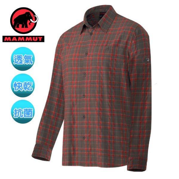 【瑞士 MAMMUT 長毛象】Belluno Shirt men 熱賣款 機能立體排汗長袖襯衫(可變短袖)/ 1030-01032-7175