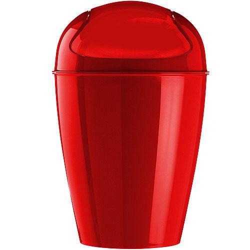 《KOZIOL》搖擺蓋垃圾桶(紅XS)