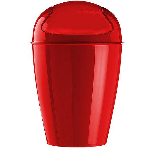 《KOZIOL》搖擺蓋垃圾桶(紅M)