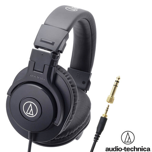 鐵三角 ATH-M30x 高音質錄音室用專業型監聽耳機