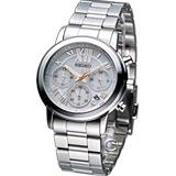 精工 SEIKO LUKIA 光彩閃耀計時腕錶 V175-0BH0K SSC895J1