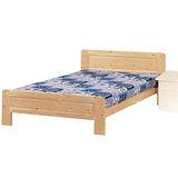 《顛覆設計》 布萊恩5尺松木實木雙人床架