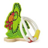 德國Hape愛傑卡-環保木頭系列-派派鸚套圈圈