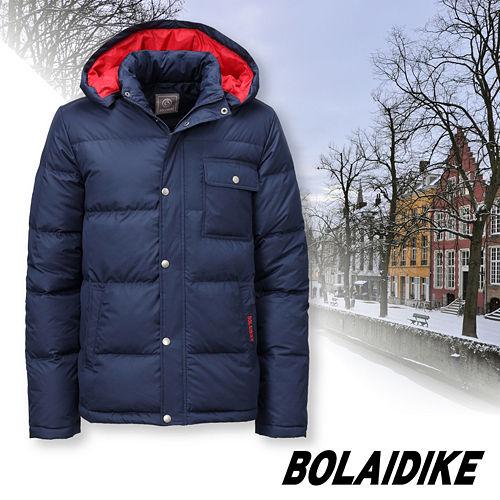 波萊迪克bolaidike 男款 輕量保暖羽絨外套