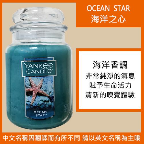 YANKEE CANDLE 香氛蠟燭 623g-海洋之心
