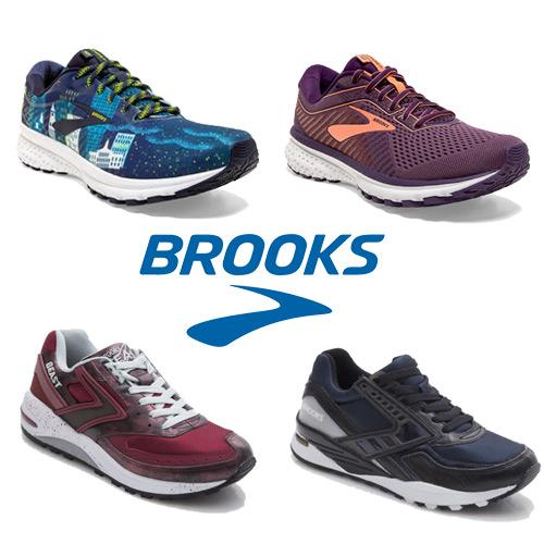 BROOKS 精選男女休閒慢跑鞋